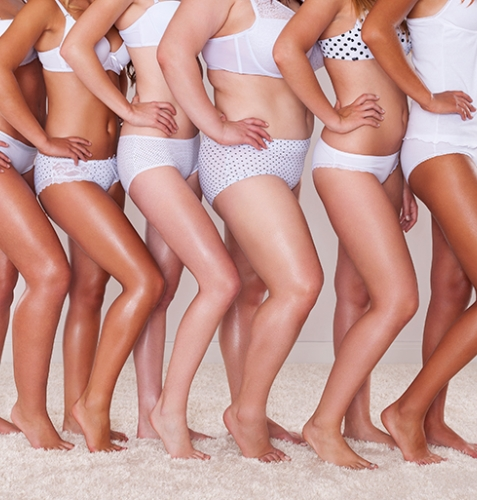 women with diverse body types