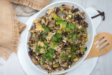 Feed Your Body Friday: Wild Rice, Apple, & Cranberry Stuffing