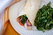 Feed Your Body Friday: Mediterranean Chicken Wrap