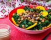 Feed Your Body Friday: Chickpea, Kale, & Tahini Salad