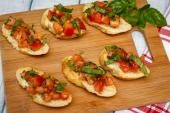 Feed Your Body Friday: Spicy Summer Bruschetta