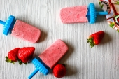 Feed Your Body Friday: Strawberry Basil Popsicles