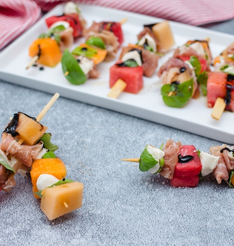 Feed Your Body Friday: Melon & Prosciutto Skewers