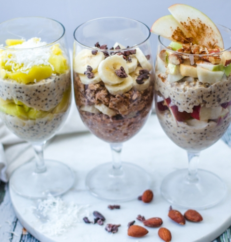 Feed Your Body Friday: Overnight Oatmeal 3 Ways