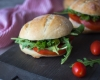 Feed Your Body Friday: Pesto, Arugula, & Tomato Sandwich