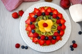 Feed Your Body Friday: Fruity Breakfast Pizza