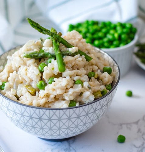 Feed Your Body Friday: Asparagus & Pea Risotto
