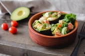 Feed Your Body Friday: Stuffed Avocado Shrimp Salad
