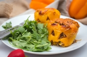 Feed Your Body Friday: Stuffed Jack-O'-Lantern Halloween Peppers