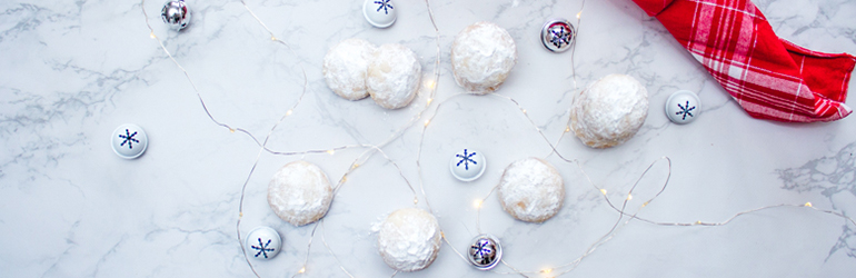 Gluten-Free Snow ball cookies.