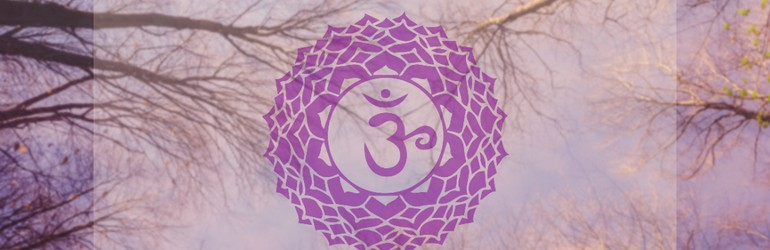 The Crown Chakra emblem.