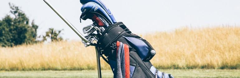 A golf bag.