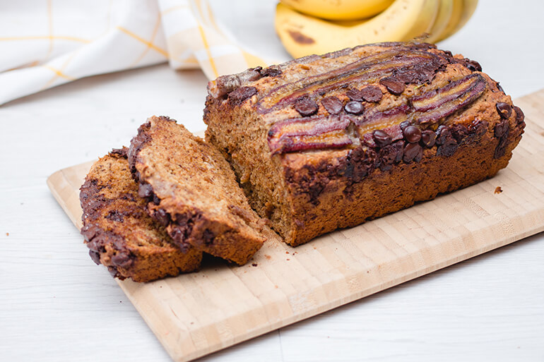 Feed Your Body Friday: Banana Chocolate Bread