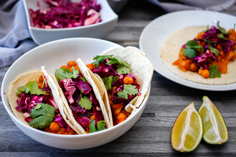 Feed Your Body Friday: Chickpea & Red Cabbage Tacos