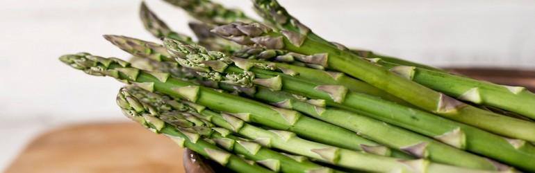 Asparagus in a bowl.