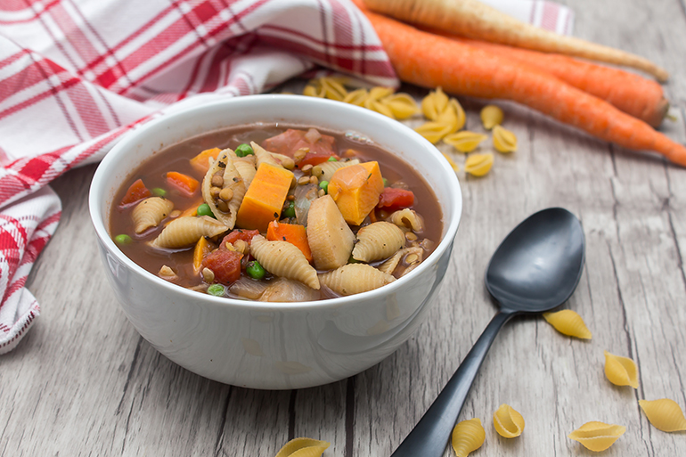 Feed Your Body Friday: Hearty Vegetable Soup