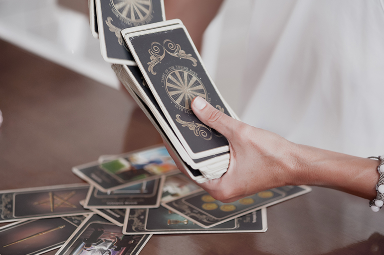 morning tarot challenge for mindfulness
