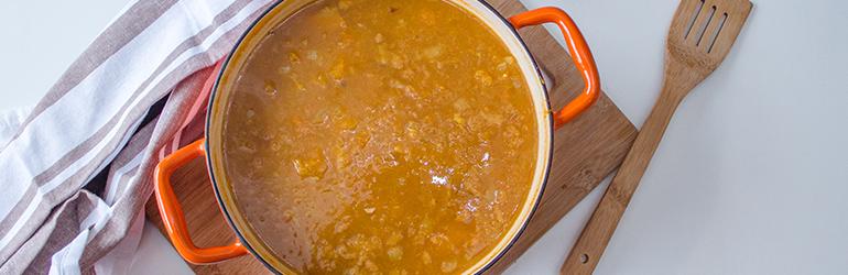 Squash soup.