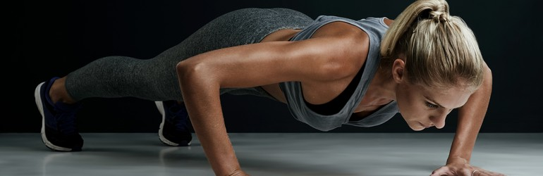 woman-doing-pushup